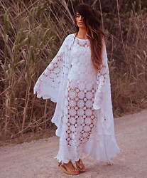 ANGELA ROZAS SAIZ - Vintage Junkyard Dress - IBIZA WAY OF LIFE