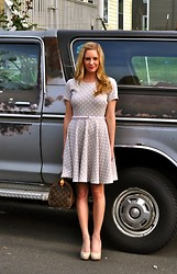 Sarah Helfgott - H&M Dress, Louis Vuitton Bag - Date night outfit
