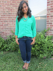 Zahra Ahmed - Old Navy Blouse, Levi's® Jeans - Summery