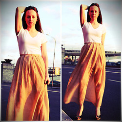 Irvy Alex - H&M Top, Diy Skirt, Gucci Heels - Be by my side...