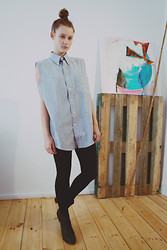 Janina Francis murphy - Vintage Cut Off Shirt - Apathie