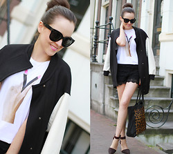 Andy T. - Zara Jacket, H&M Shirt, Alexander Wang Shoes - PEACE