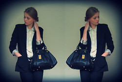 Ane Miu - Gina Tricot Jacket, Marc By Jacobs Bag - Marc by Marc Jacobs