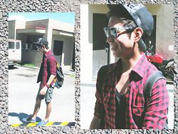 Jay Guevarra - Sm Accesories Rucksack, Sm Accesories Red Watch, Sm Accesories Wayfarer - The Weekend