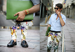 Filippo Fiora - Zara Pants - FLOWER POWER!