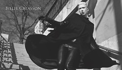 Myles Sexton - Vintage Cape, H&M Leather Pants, Leather Gloves - The devil inside me!