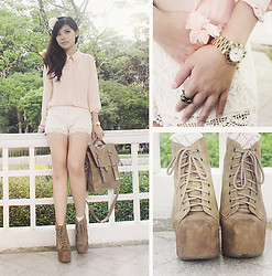 Liana Wibowo - Jeffrey Campbell Lita, Marc By Jacobs Watches, Femmex Bag - The Feminine-Chic!