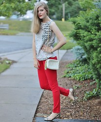 Sydney Hoffman - Jacob, Steve Madden - Night Out with my Red Pants