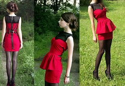 Ramona Crisstea - I Made It Dress - The little red dress!