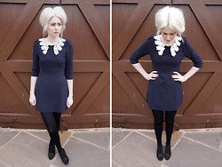 Lily Bee - Sister Jane Dress, New Look Shoes - Collared