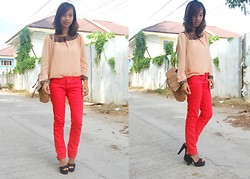 SalveeLangella Retuya - Mango Pants, Parfois Shoes - Feisty