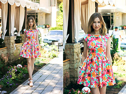Katerina Revenko - Zara Dress - Summer mood