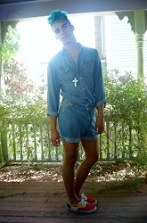 Jackson Teague - H&M Denim Shirt - NOT a Romper
