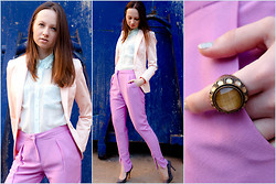 Irvy Alex - H&M Trousers, H&M Ring - A little bit more...