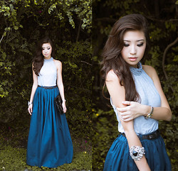 Kryz Uy - Club Couture Skirt - Neo
