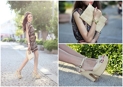 Lina Linadelika - Missoni Dress, Aldo Sandals, Michael Kors Watches - The Living Sisters – Good Ole Wagon