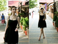 Katerina Revenko - Mango Dress, Furla Clutch - My LBD.