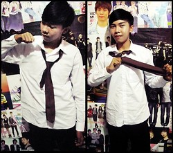 Chandra Pramana Putra - Dark Brown Tie - I say it's freestyle :-)