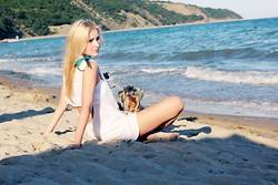 Karina Barulina - Topshop Beach Dress - My little Bonni
