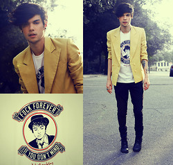 Vini Uehara - Reverbcity Pete Doherty T Shirt - When The Light Go Out