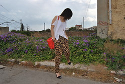 Kate You Are The One - Zara Pants - ANIMAL PRINT
