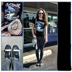 Pauline - Hot Topic Regular Show, Lululemon Gray And Mesh Athletic Leggings, Not Yet Rated Saddle Oxfords, Betsey Johnson Retro White Lace Sunglasses, Rue21 White Leather Studded Cross Body Bag, Clair's Icings Cotton Candy Earings - Mustache Cash Stash
