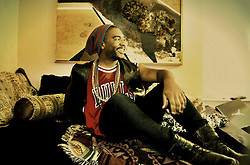 Michael Logan - Ben Wallace Bulls Jersey, Leather Vest, Aldo Boots - Lethargic Leather