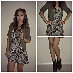 C. Le - Bakers Shoes, Forever 21 Dress, Material Girl Jacket - It's A Puzzle