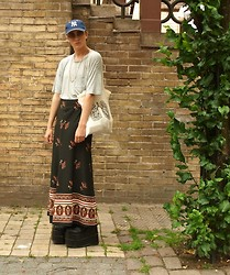 Christian Meltzer - Yankee Cap, Whyred T Shirt, 2hand Skirt, Demonia Platform Boots - I HAD SOMETHING ELSE IN MIND