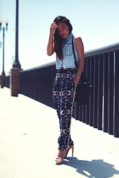 Arizka Sehoko - Jeffrey Cambell Shoes, Sugarlips Pants - Bridging Gaps