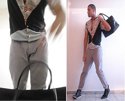 Ivan Martinez - Mine Chinese Neck Shirt, Old Navy Curdorie, Sean John Duffle, H&M Ankle - Indian Urban