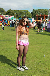Michelle Erica M. - Topshop Bralet, H&M Shorts, Creepers - Blessed with a curse