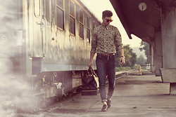 Vladan Gavric - Yokiono Jeans, Zara Shirt - Summer is time to travel