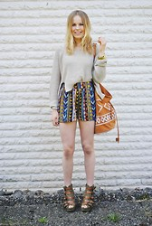 Frida Johnson - Shorts, Bag - HELLO AZTEC