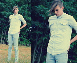 Alessandro M - Cheap Monday Jeans, Denim Shirt - Countryside.