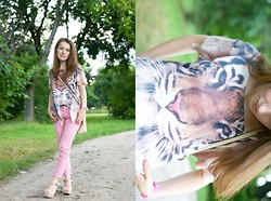 "Katarzyna Maniszewska - Pants - ""Eye of the tiger"""