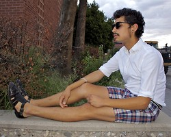 Jo Zepeda - Gap Shirt, Ben Sherman Shorts, Cole Han Shoes - Am I Awake or Dreaming