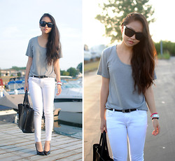 Meijia S - Diy White Jeans - Easy days