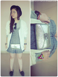 Grace Ng - Nikicio Lace Jacket, Antyk Butyk Barca Bracelet - 50 Shades of Gray