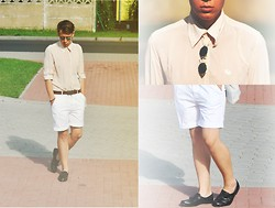 Kamil Łukasz Ignacy - No Name, Diy Shoes, Multi Wear Shorts, Diy Eco Bag, No Name Shirt, Sunglasses, House Belt - Summer Paradise