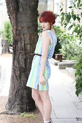 Chloë Carter - Vintage Sundress - Summer Stripes