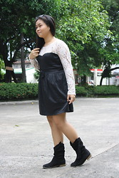 Nina Santos - From Hong Kong Boots, Forever 21 Headband - Bellatrix