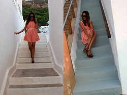 Besugarandspice FV - Queen´S Wardrobe Dress, Zara Sandals, Aristocrazy Bracelet - Coral Dress