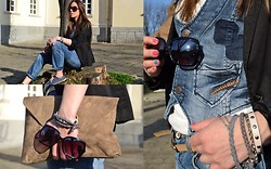 Titina M. - Zara Jacket, Ltb Jeans, Pull & Bear Shoes, H&M Bracelets - Free day
