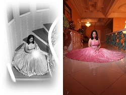 Vanessa Vidal - Rajo Laurel Gown - White Dreams, Reflected Dreams