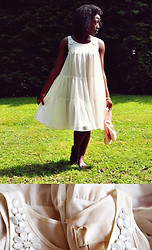 Olutosin K - H&M Cream Summer Dress, Bloch Ballet Pointe Shoes - This one's a dedication to the pie village
