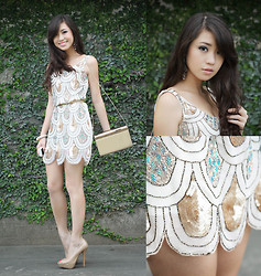 Kryz Uy - Tfnc London Dress - The Little Sparkly Dress