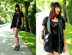 Shane Wu - Forever 21 Lace Top, Chanel Bag, Marni Shoes - Lace you~