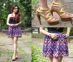 Paulina De Ramos - Forever 21 Corset, Strings Manila Skirt, Lyn Shoes - Safe and Sound