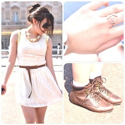 Mayzin Han - Zara Dress, Accessorize Ring, Miss Selfridge Boots - Royalty